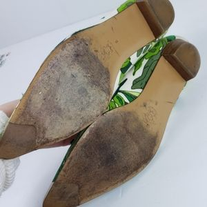 J. Crew Shoes - J. Crew Floral Pointy Toe Ballet Flat 8